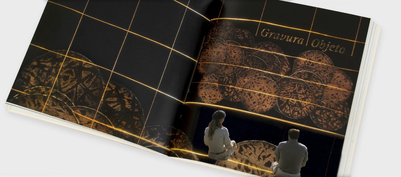 abertura gravura e objeto