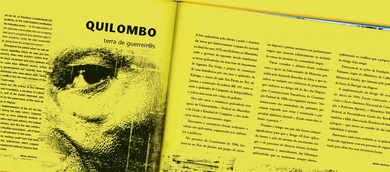 texto quilombo